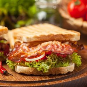 Bacon Lettuce Tomato Sandwhich