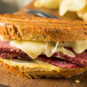 Rueben sandwich.